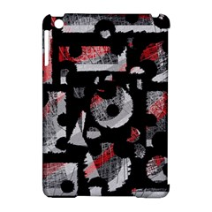 Red Shadows Apple Ipad Mini Hardshell Case (compatible With Smart Cover) by Valentinaart
