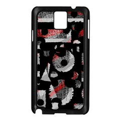 Red Shadows Samsung Galaxy Note 3 N9005 Case (black)