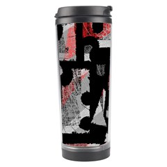 Red Shadows Travel Tumbler by Valentinaart