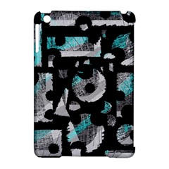Blue Shadows  Apple Ipad Mini Hardshell Case (compatible With Smart Cover) by Valentinaart