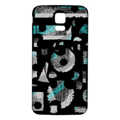 Blue Shadows  Samsung Galaxy S5 Back Case (white) by Valentinaart