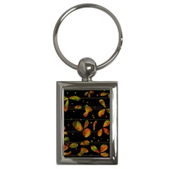 Floral Abstraction Key Chains (rectangle)  by Valentinaart