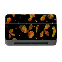 Floral Abstraction Memory Card Reader With Cf by Valentinaart