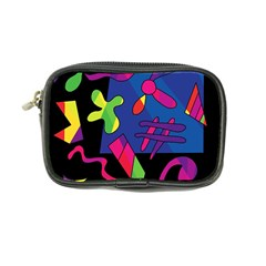 Colorful Shapes Coin Purse by Valentinaart