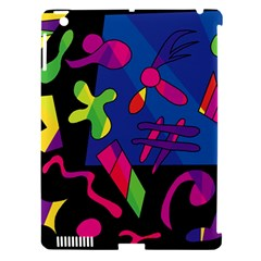 Colorful Shapes Apple Ipad 3/4 Hardshell Case (compatible With Smart Cover) by Valentinaart