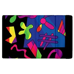 Colorful Shapes Apple Ipad 3/4 Flip Case