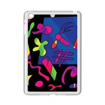Colorful shapes iPad Mini 2 Enamel Coated Cases Front