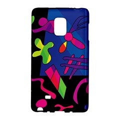 Colorful Shapes Galaxy Note Edge by Valentinaart
