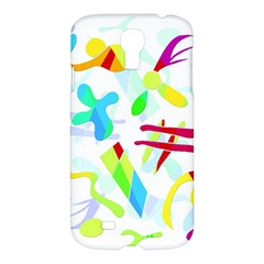 Playful Shapes Samsung Galaxy S4 I9500/i9505 Hardshell Case by Valentinaart