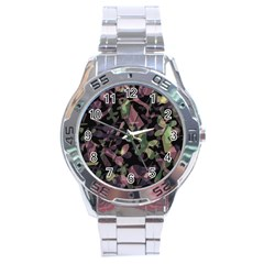 Depression  Stainless Steel Analogue Watch