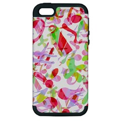 Summer Apple Iphone 5 Hardshell Case (pc+silicone) by Valentinaart