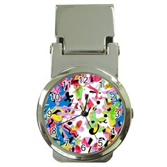 Colorful Pother Money Clip Watches by Valentinaart
