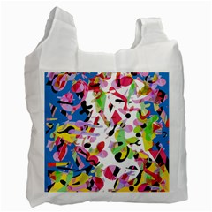 Colorful Pother Recycle Bag (two Side)  by Valentinaart