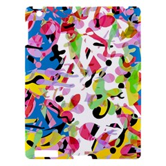 Colorful Pother Apple Ipad 3/4 Hardshell Case by Valentinaart
