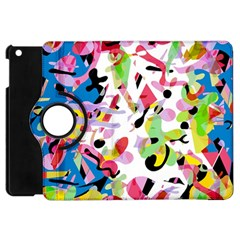 Colorful Pother Apple Ipad Mini Flip 360 Case by Valentinaart