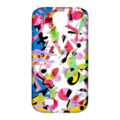Colorful Pother Samsung Galaxy S4 Classic Hardshell Case (pc+silicone) by Valentinaart