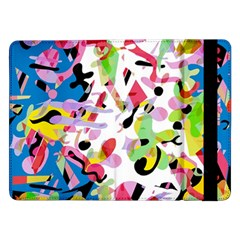 Colorful Pother Samsung Galaxy Tab Pro 12 2  Flip Case by Valentinaart