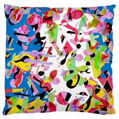 Colorful Pother Standard Flano Cushion Case (two Sides) by Valentinaart