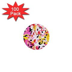 Pink Pother 1  Mini Buttons (100 Pack)