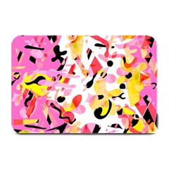 Pink Pother Plate Mats by Valentinaart