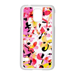 Pink Pother Samsung Galaxy S5 Case (white) by Valentinaart