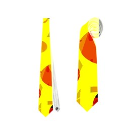 Fire Neckties (two Side)  by Valentinaart
