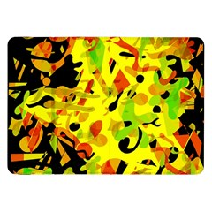 Fire Samsung Galaxy Tab 8 9  P7300 Flip Case by Valentinaart