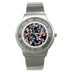 Creative Chaos Stainless Steel Watch by Valentinaart