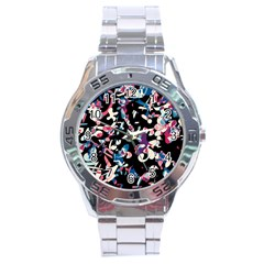 Creative Chaos Stainless Steel Analogue Watch by Valentinaart