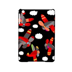 Playful Airplanes  Ipad Mini 2 Hardshell Cases by Valentinaart