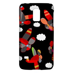 Playful Airplanes  Galaxy S5 Mini by Valentinaart