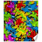 Colorful airplanes Canvas 20  x 24   24 x20  Canvas - 1
