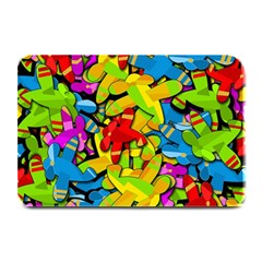 Colorful Airplanes Plate Mats by Valentinaart
