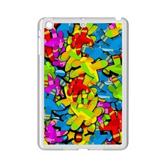 Colorful Airplanes Ipad Mini 2 Enamel Coated Cases by Valentinaart