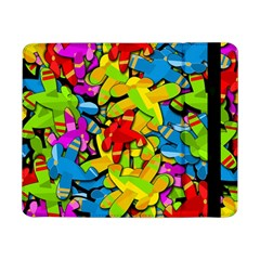 Colorful Airplanes Samsung Galaxy Tab Pro 8 4  Flip Case by Valentinaart