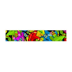 Colorful Airplanes Flano Scarf (mini) by Valentinaart