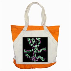 Playful Dots Accent Tote Bag by Valentinaart