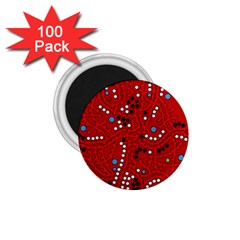 Red Fantasy 1 75  Magnets (100 Pack)