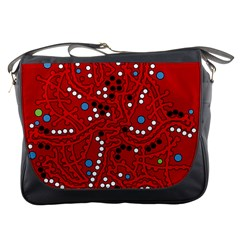 Red Fantasy Messenger Bags
