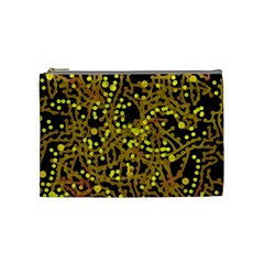 Yellow Emotions Cosmetic Bag (medium)  by Valentinaart