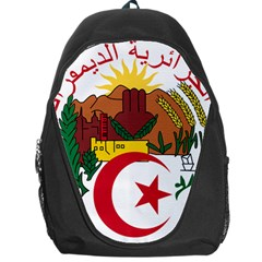 National Seal Of Algeria Backpack Bag by abbeyz71