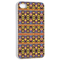 Spirit Of Bulgaria Apple Iphone 4/4s Seamless Case (white) by MRTACPANS