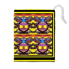 Spirit  Bulgarian Bee Drawstring Pouches (extra Large)