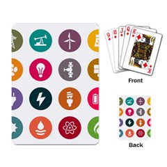 Acces Image Consumer News Letter Playing Card