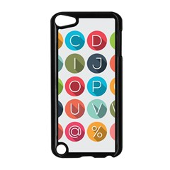 Alphabet Apple Ipod Touch 5 Case (black) by AnjaniArt