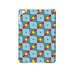 Shapes In Squares Pattern                                                                                                           			apple Ipad Mini 2 Hardshell Case by LalyLauraFLM