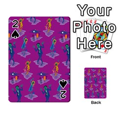 Zombie Pattern Playing Cards 54 Designs