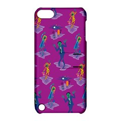 Zombie Pattern Apple Ipod Touch 5 Hardshell Case With Stand