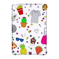 Animals Fruite Cake Lip Pattern Apple Ipad Mini Hardshell Case (compatible With Smart Cover) by AnjaniArt