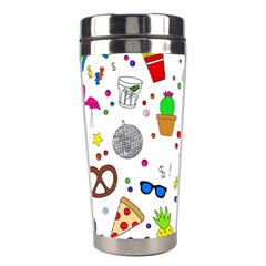Animals Fruite Cake Lip Pattern Stainless Steel Travel Tumblers